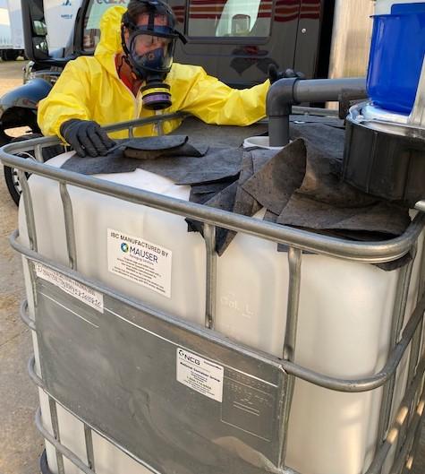 waste disposal, emergency waste disposal response, hazardous waste disposal