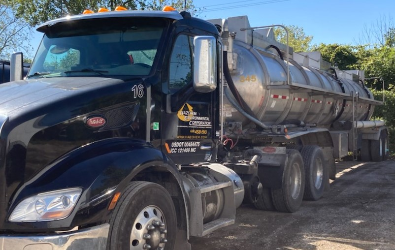 vacuum truck services, waste disposal,